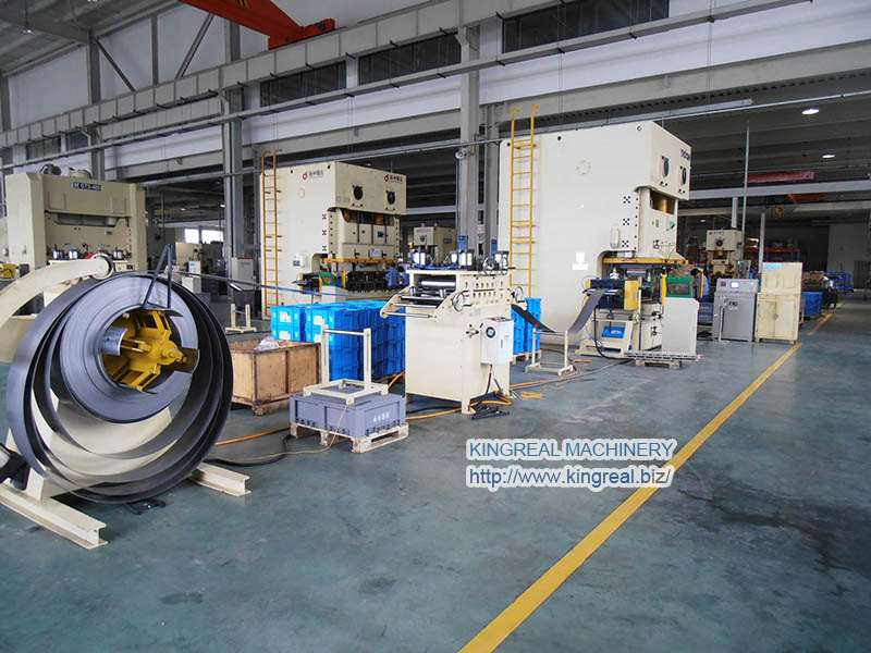 auto press feeder system, NC servo roller Feeder