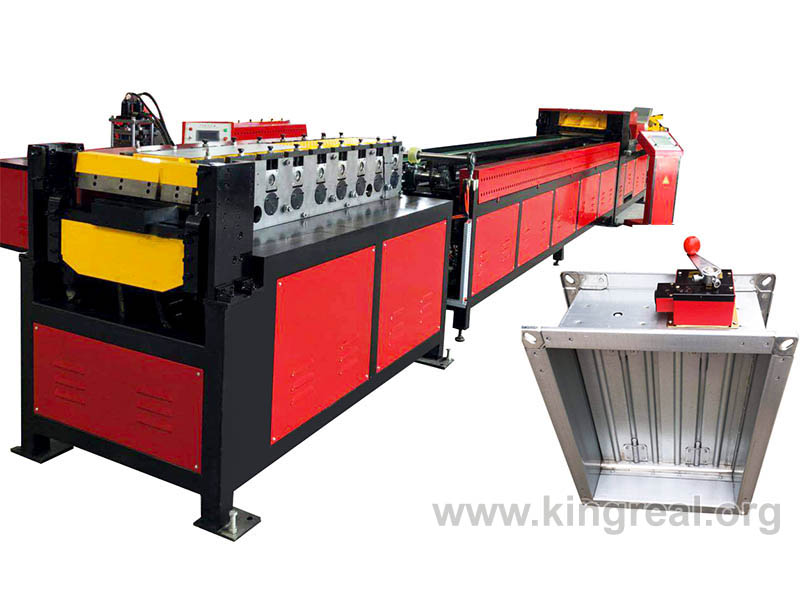 fire damper frame making machine
