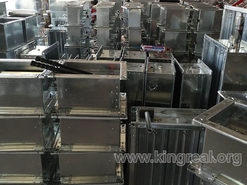 fire damper auto making machine