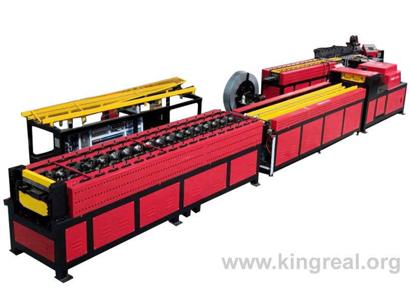 smoke damper frame production line