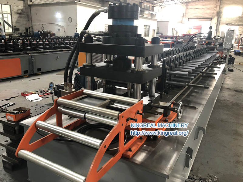 rack panel sheet roll forming machine