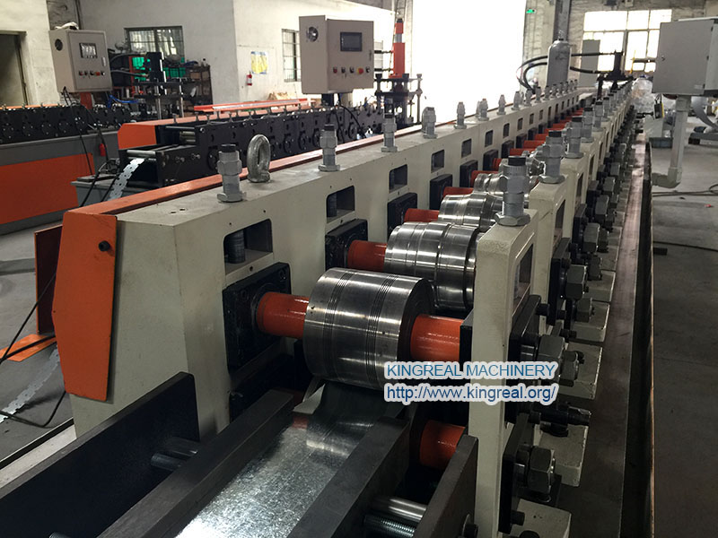 high precision spring tee roll forming machine