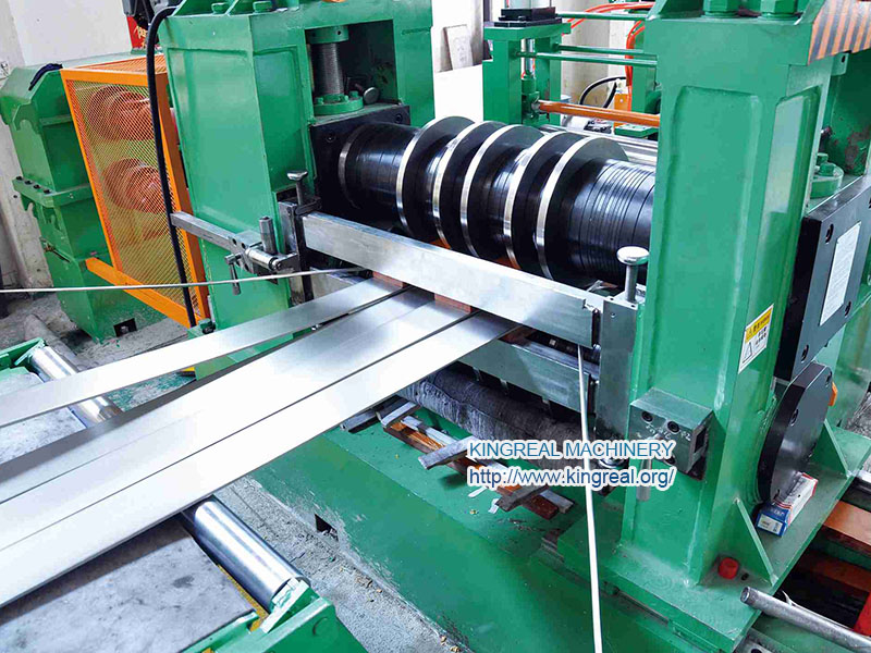 thick gauge steel coil slitting line