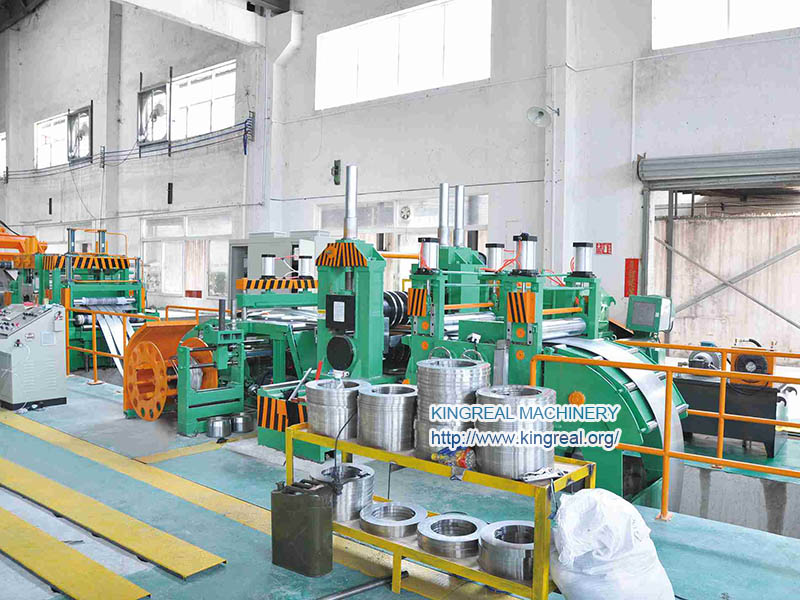 thick steel sheet coil slitting line