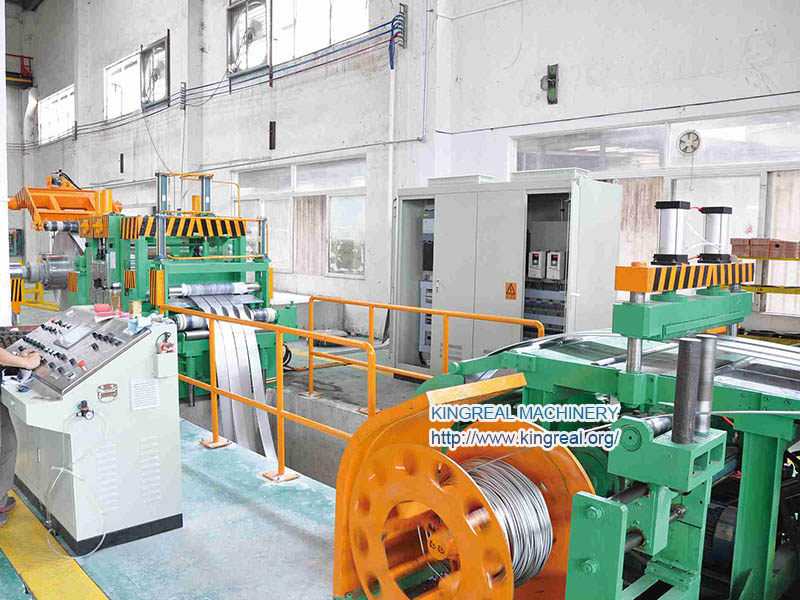 high gauge steel coil slitting line, cut to length line